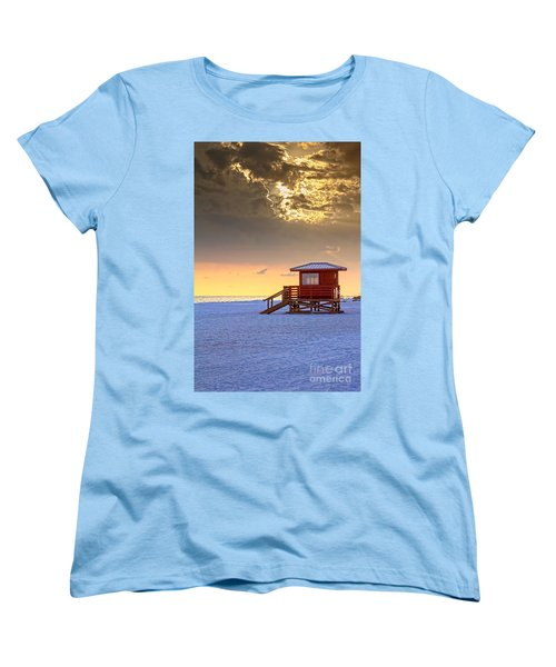 Life Guard 1 Women's T-Shirt (Standard Cut) by Marvin Spates