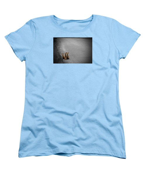 Life Is An Unknown Highway Women's T-Shirt (Standard Cut) by Jim Garrison
