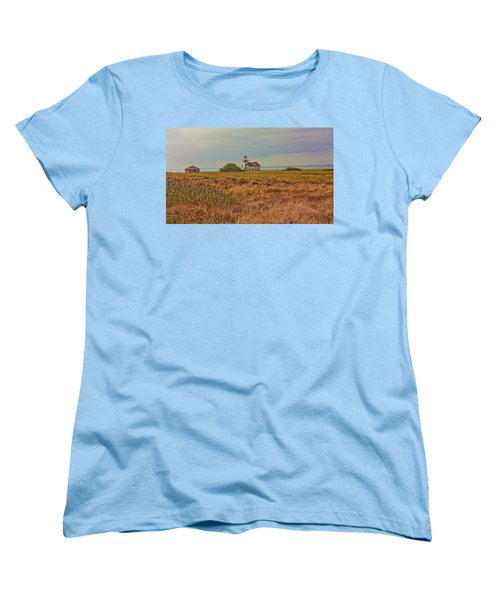 Women's T-Shirt (Standard Cut) featuring the photograph Lighthouse by Brian Williamson