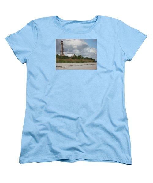 Sanibel Island Light Women's T-Shirt (Standard Cut) by Christiane Schulze Art And Photography