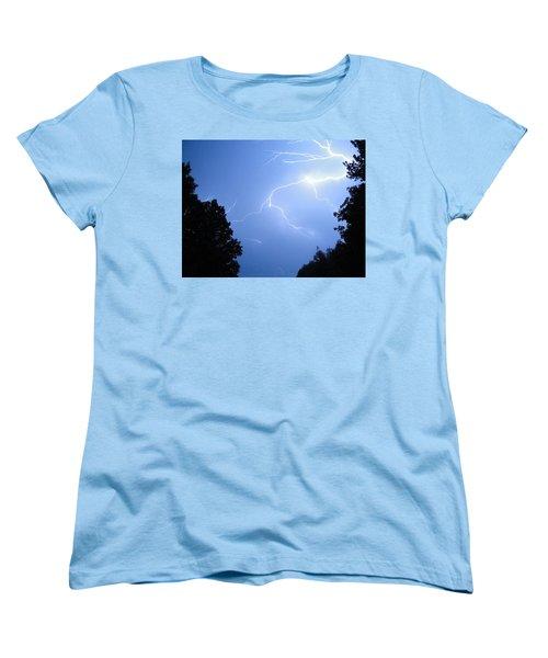 Lighting Up The Night Women's T-Shirt (Standard Cut) by Tiffany Erdman