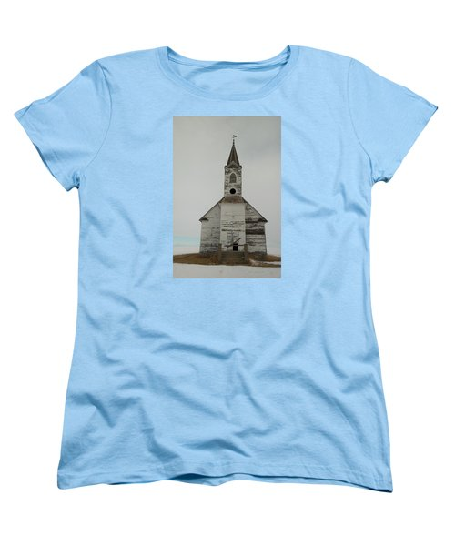 Like An Angel Boarded Up Women's T-Shirt (Standard Cut) by Jeff Swan