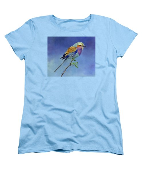 Lilacbreasted Roller Women's T-Shirt (Standard Cut)