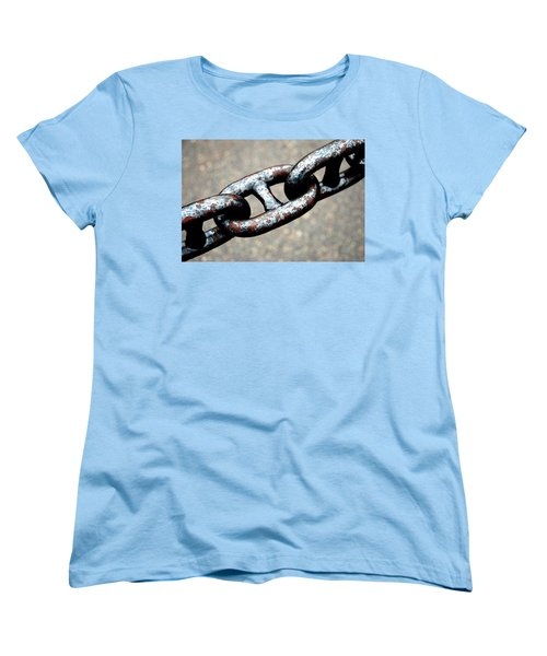 Linked Women's T-Shirt (Standard Cut) by Charlie and Norma Brock