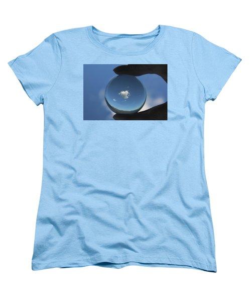 Little Heart Cloud Women's T-Shirt (Standard Cut) by Cathie Douglas