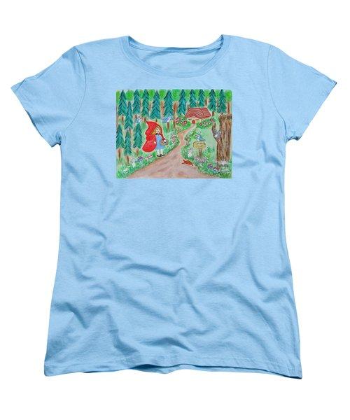 Little Red Riding Hood Women's T-Shirt (Standard Cut)
