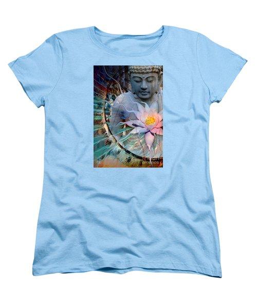 Living Radiance Women's T-Shirt (Standard Cut) by Christopher Beikmann