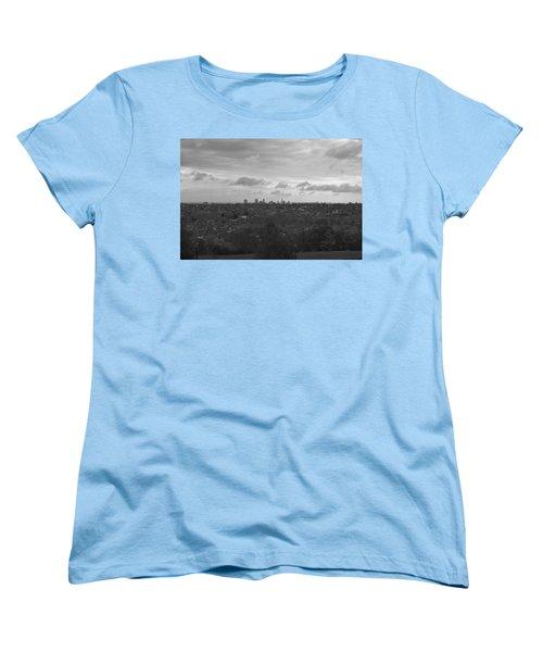 Women's T-Shirt (Standard Cut) featuring the photograph London City by Maj Seda