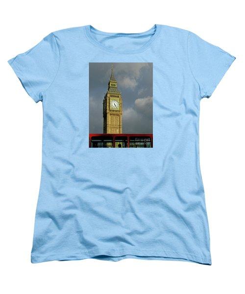 Women's T-Shirt (Standard Cut) featuring the photograph London Icons by Ann Horn
