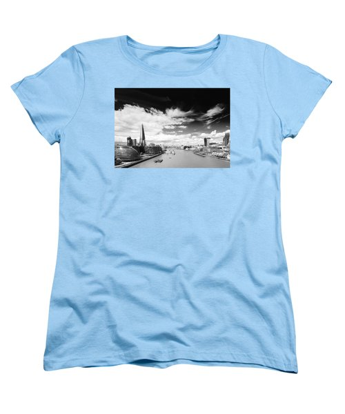 Women's T-Shirt (Standard Cut) featuring the photograph London Panorama by Chevy Fleet