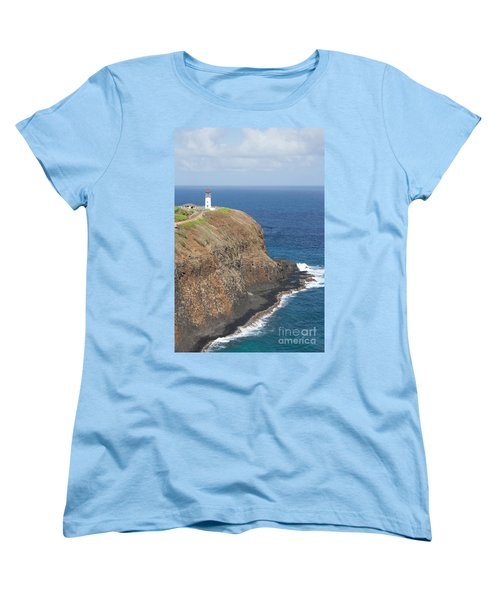 Women's T-Shirt (Standard Cut) featuring the photograph Lone Sentry by Suzanne Luft