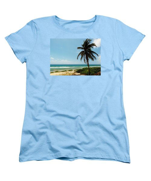 Women's T-Shirt (Standard Cut) featuring the photograph Lone Tree by Amar Sheow