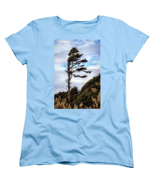 Women's T-Shirt (Standard Cut) featuring the photograph Lone Tree by Melanie Lankford Photography