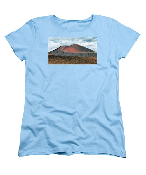 Women's T-Shirt (Standard Cut) featuring the photograph Looking Down by Jim Thompson
