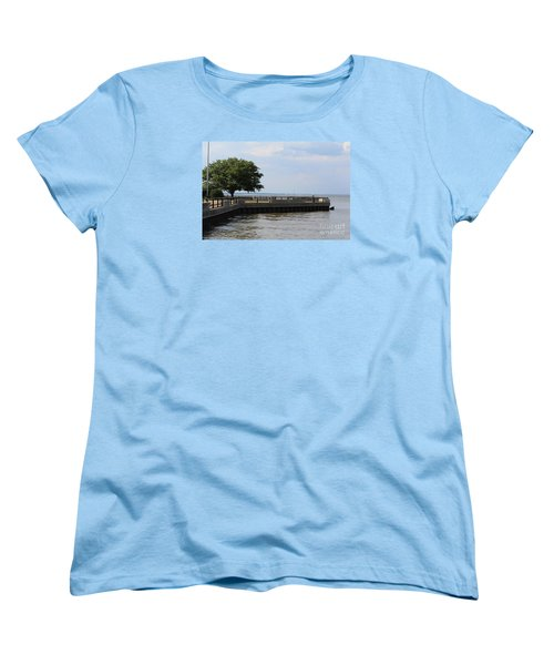 Lookout Point Women's T-Shirt (Standard Cut) by David Jackson