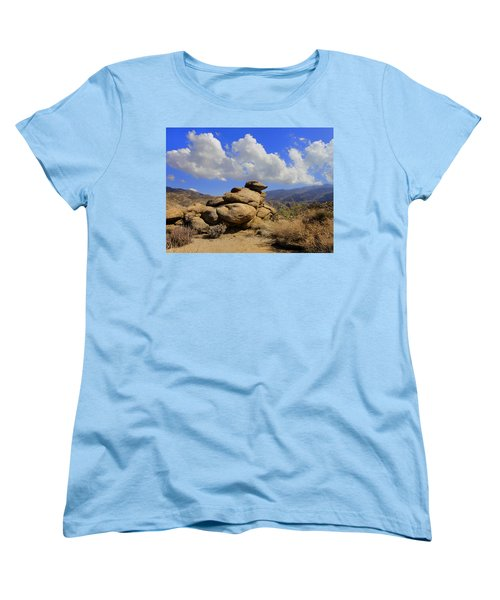 Lookout Rock Women's T-Shirt (Standard Cut) by Michael Pickett