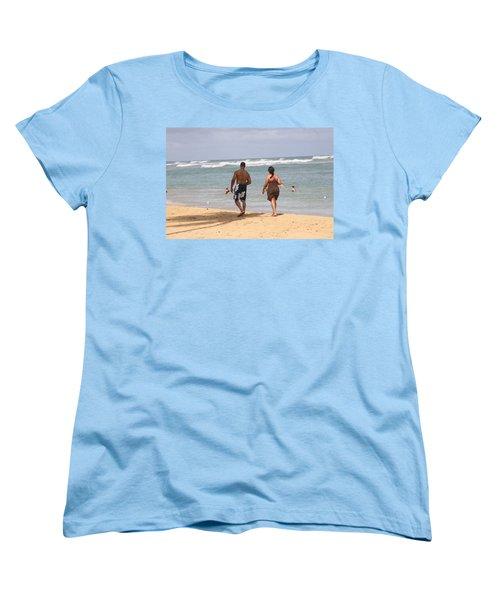 Love Stroll Women's T-Shirt (Standard Cut) by Mustafa Abdullah