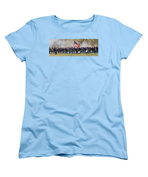 Lovely Flag Women's T-Shirt (Standard Cut) by Alice Gipson