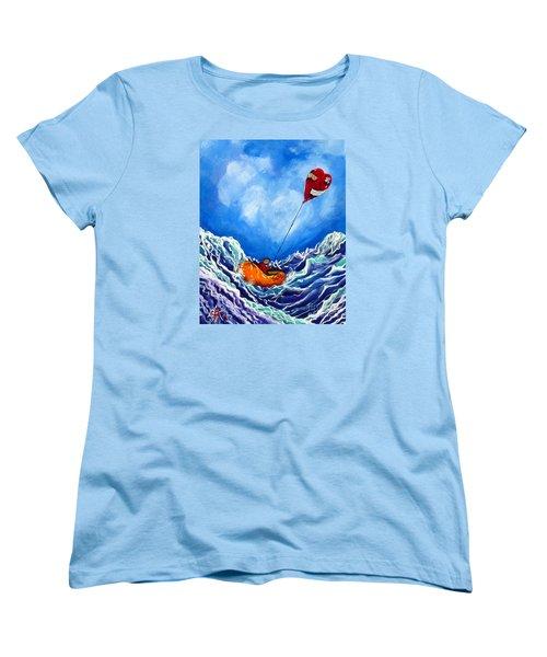 Love's Castaway Women's T-Shirt (Standard Cut) by Jackie Carpenter