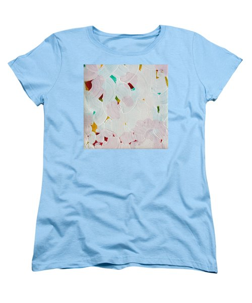 Women's T-Shirt (Standard Cut) featuring the painting Lucent Entanglement C2013 by Paul Ashby