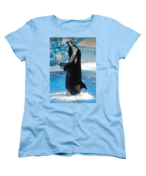 Women's T-Shirt (Standard Cut) featuring the photograph Lump In The Throat Time by David Nicholls