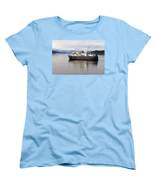 Women's T-Shirt (Standard Cut) featuring the photograph M/v Leconte by Cathy Mahnke