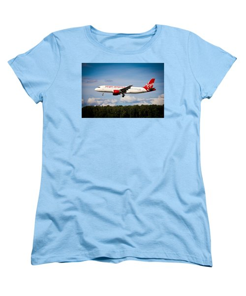 Airline Women's T-Shirt (Standard Cut) featuring the photograph Mach Daddy by Aaron Berg