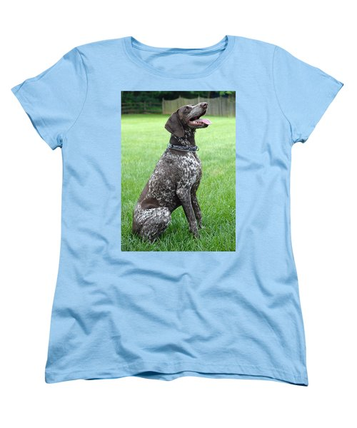 Women's T-Shirt (Standard Cut) featuring the photograph Maggie by Lisa Phillips