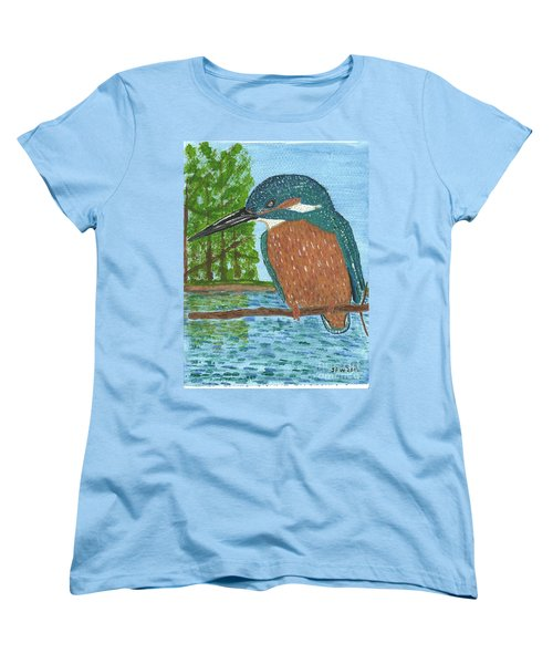 Women's T-Shirt (Standard Cut) featuring the painting Magic Moments by John Williams