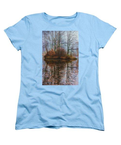 Magic Reflection Women's T-Shirt (Standard Cut) by Mariola Bitner