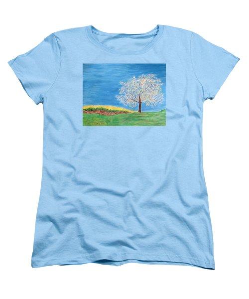 Magical Wish Tree Women's T-Shirt (Standard Cut) by Sonali Gangane
