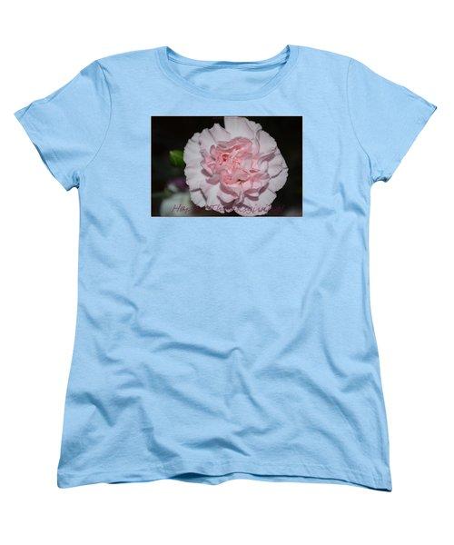 Magnetic Pink Women's T-Shirt (Standard Cut) by Sonali Gangane