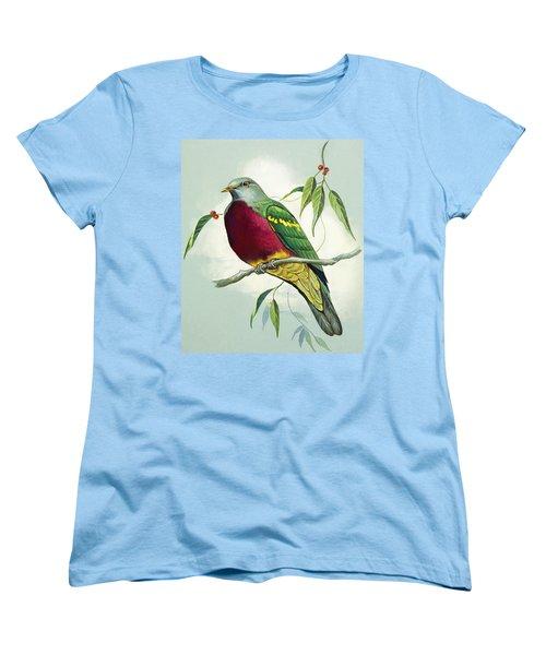 Magnificent Fruit Pigeon Women's T-Shirt (Standard Cut) by Bert Illoss