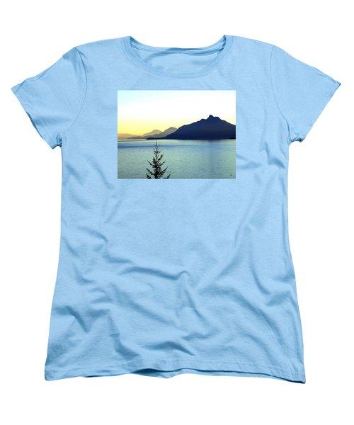 Magnificent Howe Sound Women's T-Shirt (Standard Cut) by Will Borden