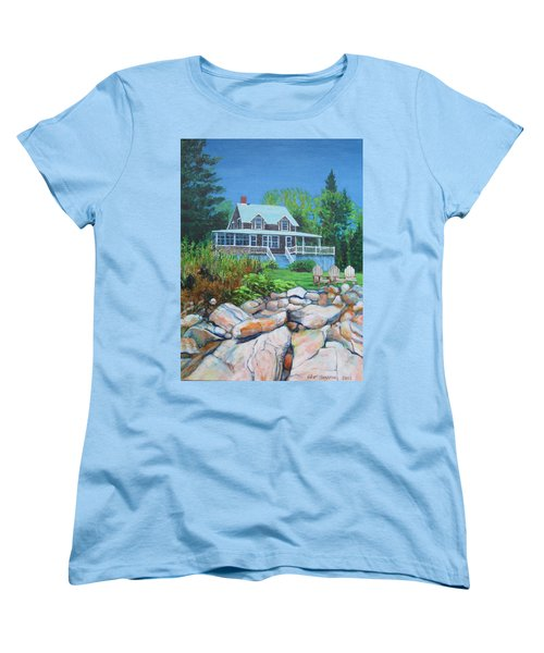 Maine Cottage Women's T-Shirt (Standard Cut)