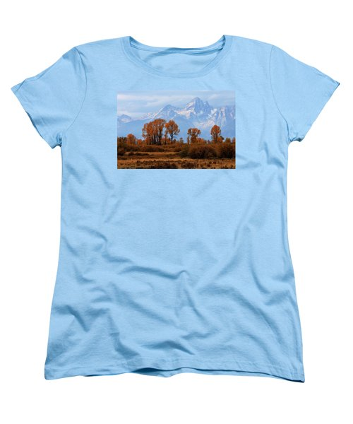 Majestic Backdrop Women's T-Shirt (Standard Cut) by David Andersen