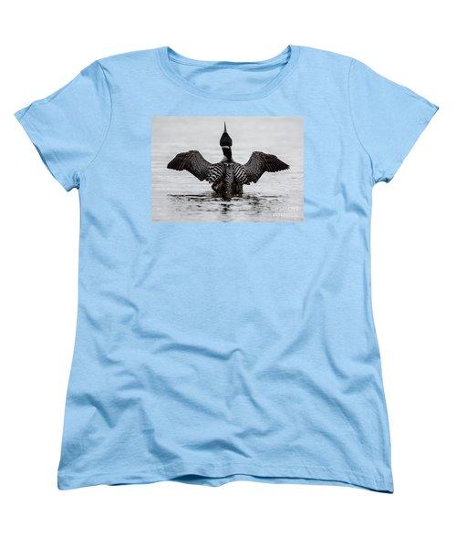Majestic Loon Women's T-Shirt (Standard Cut) by Cheryl Baxter