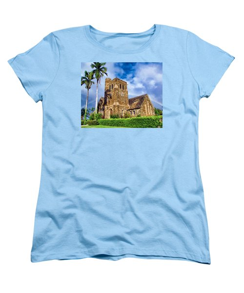 Makawao Union Church 1 Women's T-Shirt (Standard Cut) by Dawn Eshelman