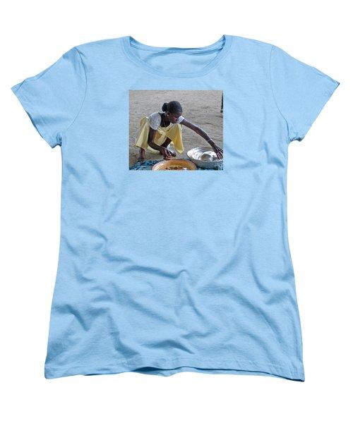 Making Lunch Dakar Senagal Women's T-Shirt (Standard Cut) by Jay Milo