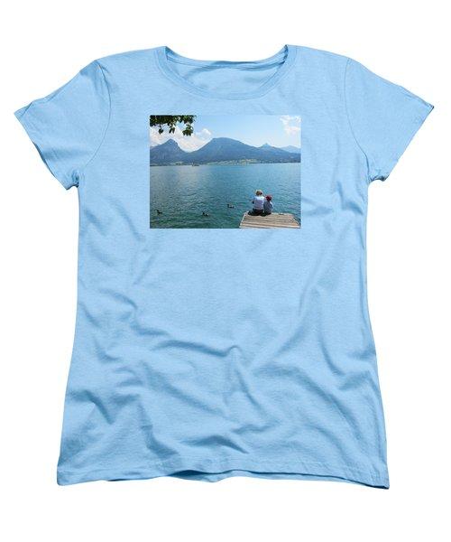 Mama And I Women's T-Shirt (Standard Cut) by Pema Hou