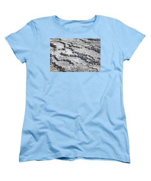 Mammoth Terraces Detail Women's T-Shirt (Standard Fit)