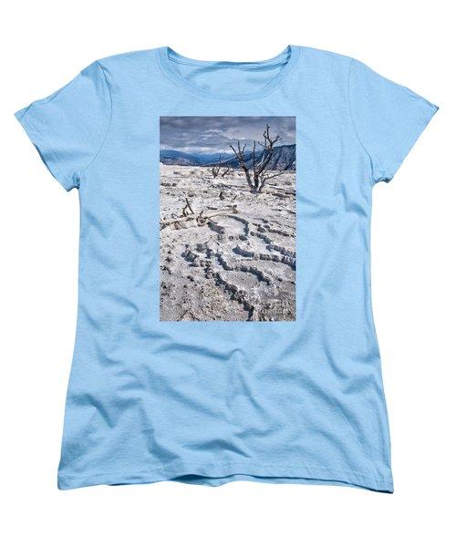 Mammoth Terraces Vertical Women's T-Shirt (Standard Fit)