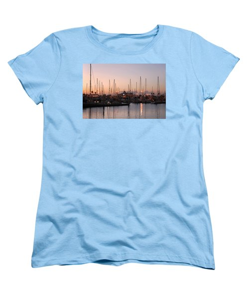 Marina Sunrise 12 Women's T-Shirt (Standard Cut) by Leticia Latocki