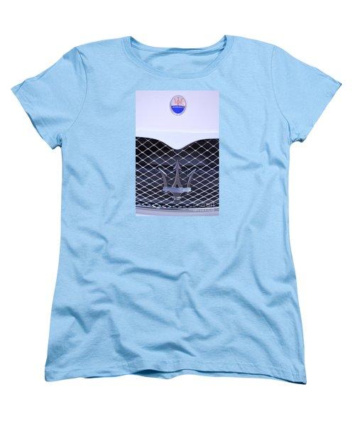 Maserati Emblems Women's T-Shirt (Standard Cut) by Pamela Walrath