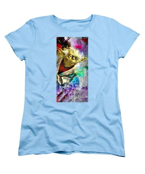 Master Yoda Women's T-Shirt (Standard Cut) by Daniel Janda