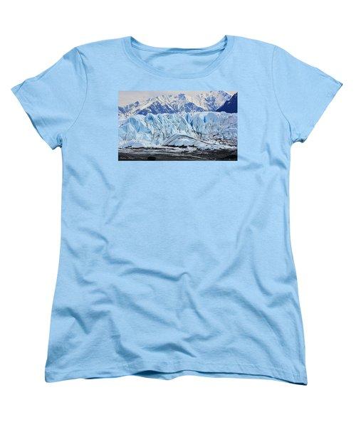 Matanuska Glacier Women's T-Shirt (Standard Cut) by Andrew Matwijec
