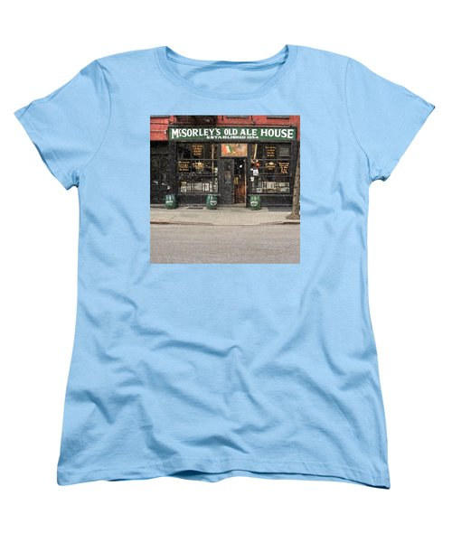 Mcsorley's Old Ale House Women's T-Shirt (Standard Cut) by Doc Braham