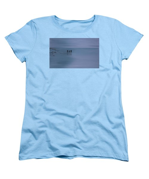 Women's T-Shirt (Standard Cut) featuring the painting Mdt 1.2 by Tim Mullaney