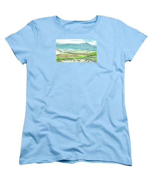 Medjugorje Fields Women's T-Shirt (Standard Cut) by Christina Verdgeline