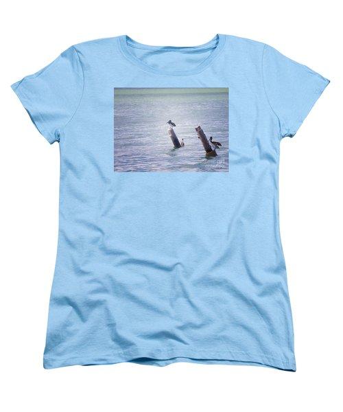Women's T-Shirt (Standard Cut) featuring the photograph Meeting Place by Erika Weber